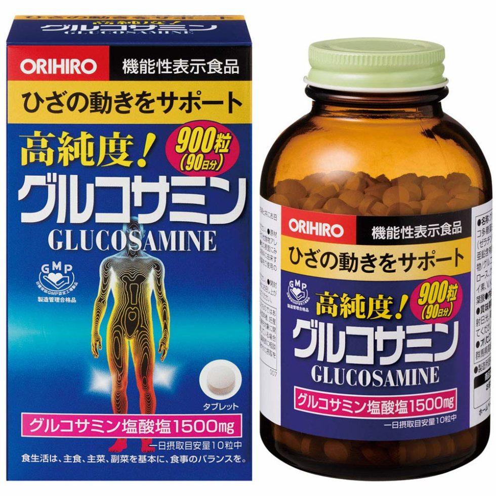 オリヒロ|グルコサミンの効果的な飲み方|口コミ・評判も紹介!